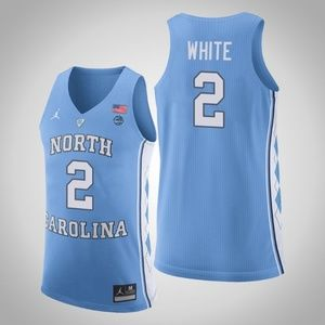 Chicago Bulls Coby White college Jersey
